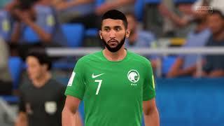 Uruguay - Saudi Arabia FIFA World Cup 2018