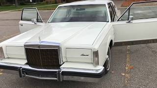 Lincoln Continental Mark VI - 1980 5.8 liter 351 Windsor V8 (Interior Features)