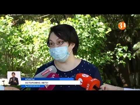 В Алматы водитель сбил насмерть двухлетнего ребенка