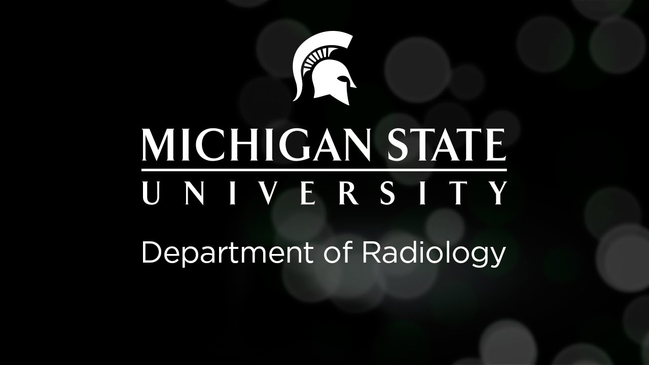 Michigan State University Department of Radiology Lecture: Spaces of ...