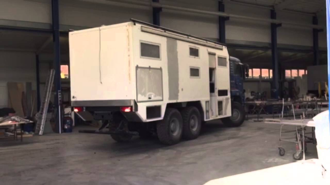 Boxmanufaktur Expedition Vehicles Expeditionsmobile Man