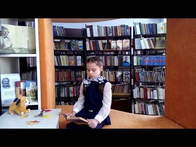 Изображение предпросмотра прочтения – АннаСтаханова читает произведение «Стихотворение в прозе Воробей» И.С.Тургенева