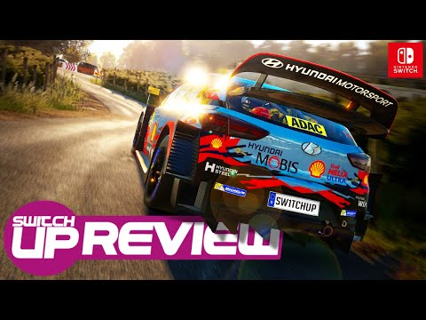 WRC 8 Nintendo Switch Review - Easily THE BEST Rally Game!