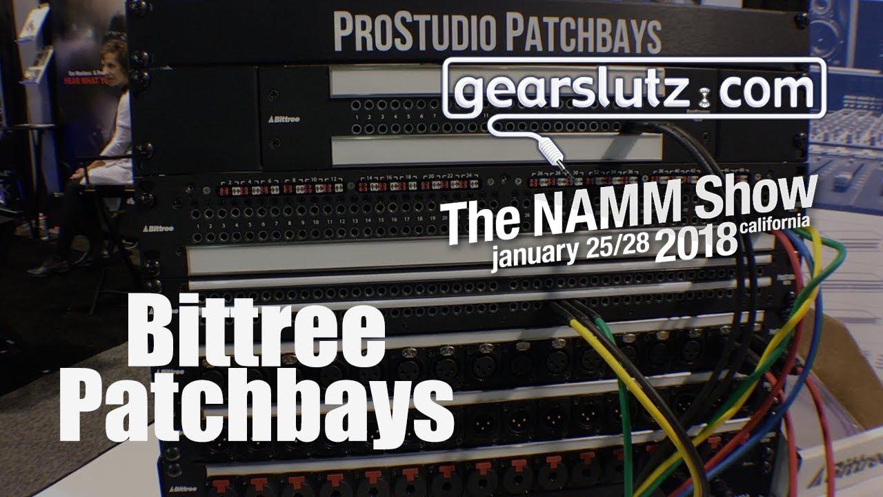 maxresdefault bittree patchbays gearslutz @ namm 2018 youtube