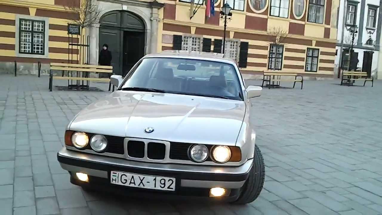 Bmw E34 525i 1988  Bronzitbeige-metallic