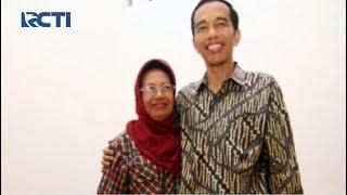 Iring-iringan Antarkan Jenazah Almarhumah Ibunda Jokowi Menuju Pemakaman di Karanganyar.