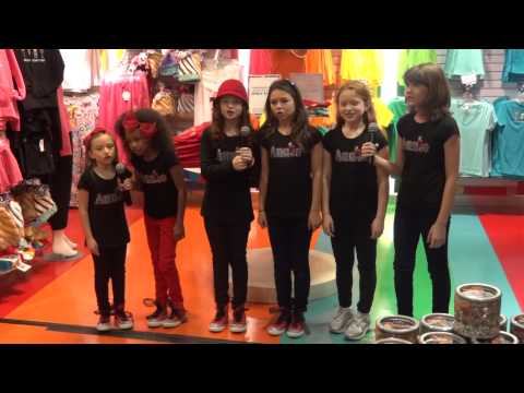 Annie's Orphans at Dylan's Candy Bar-