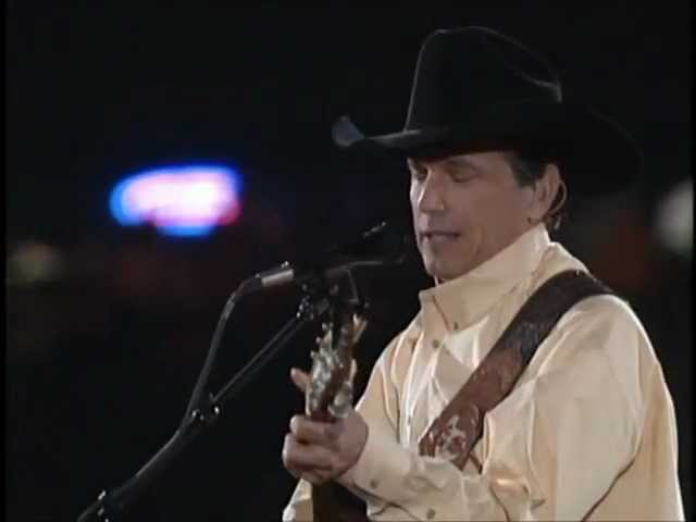 George Strait - Amarillo By Morning (Live From The Astrodome) Chords ...
