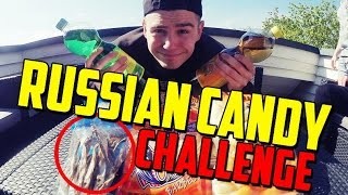 RUSSIAN CANDY CHALLENGE !!!