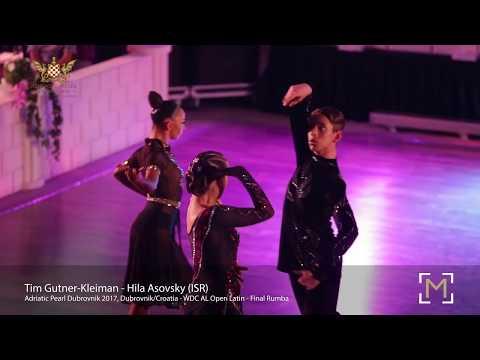 Tim Gutner Kleiman - Hila Asovsky (ISR)   Adriatic Pearl Dubrovnik 2017 - Open LAT - F R