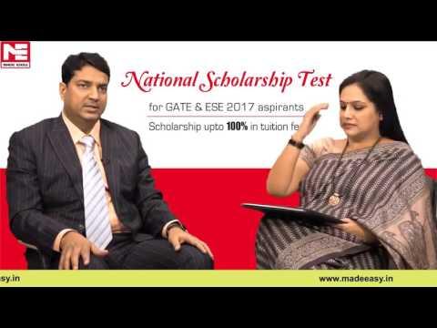 MADE EASY National Scholarship Test for GATE & ESE 2017 aspirants