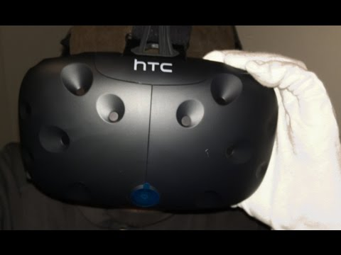 HTC Vive VR Headset Unboxing (Steam Virtual Reality)