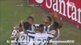 Top 10 Goles Agonicos De Atletico Nacional (En La Era Juan Carlos Osorio)