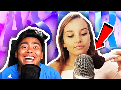 REACTING TO ASMR!