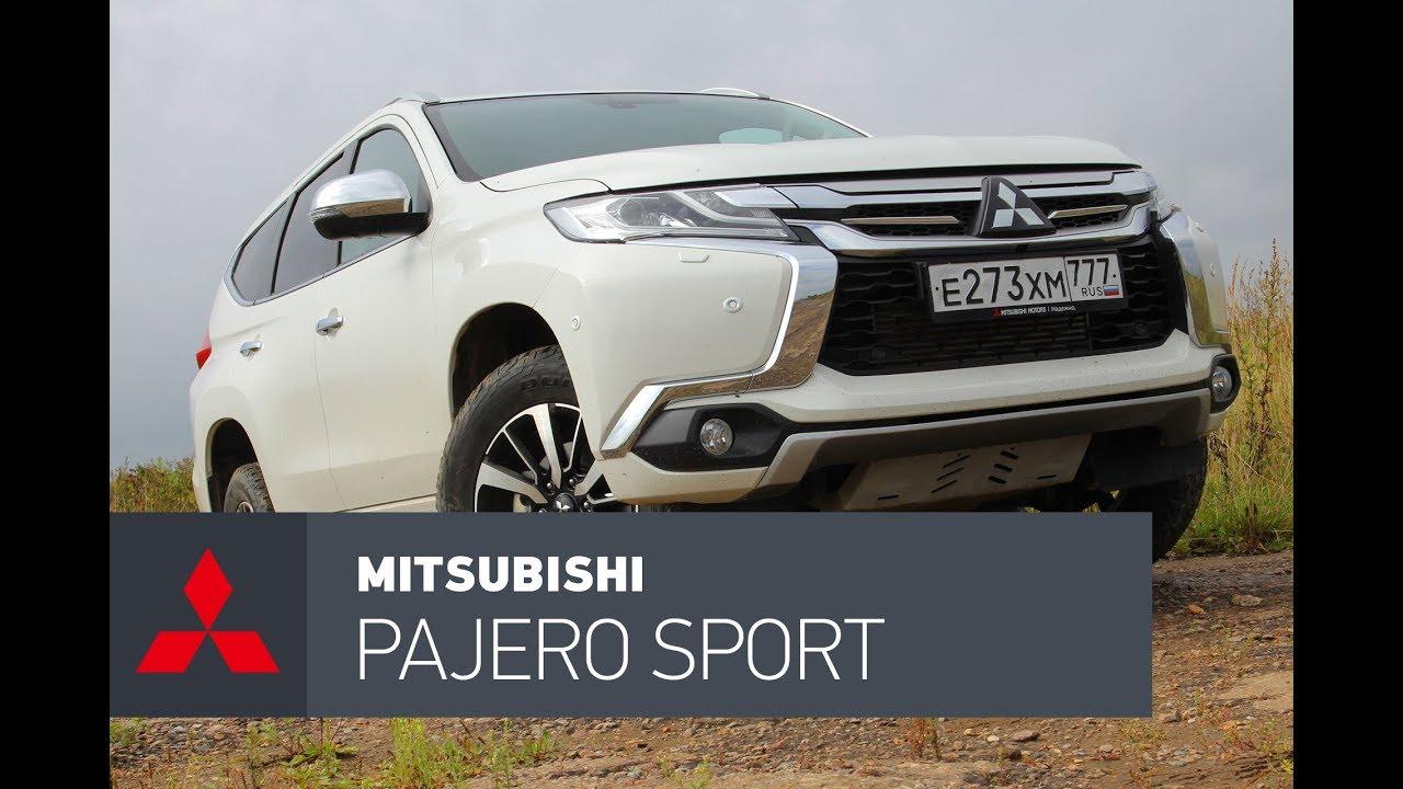Mitsubishi Pajero Sport обзор, дизельный Похеро Спорт.