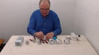 Dimbare LED inbouwspots van Tronix aansluiten en dimmen