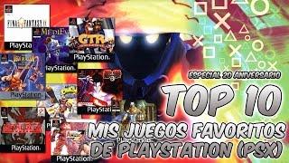 Top 10 | Mis juegos favoritos de PlayStation (PSX) - Especial 20º aniversario
