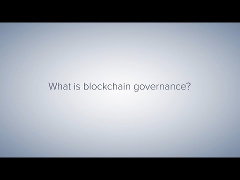 What is Blockchain Governance?