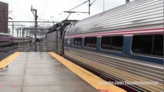 [HD] Rainy afternoon on the NEC- Boston