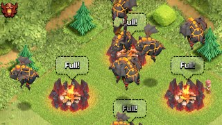Clash of Clans Attacks - All Lava Hound Attack - Win Clash of Clans With Peter17$