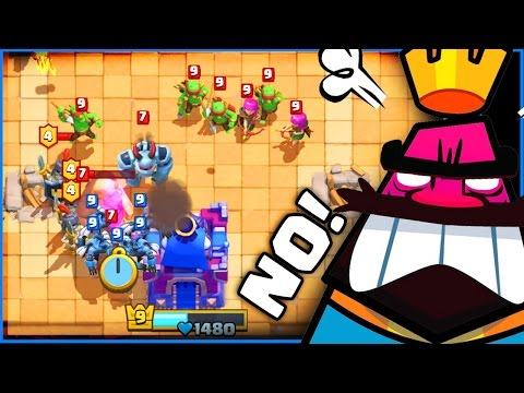 HE DESTROYED ME!! �ۢ Clash Royale �ۢ ALL LIVE BATTLES!