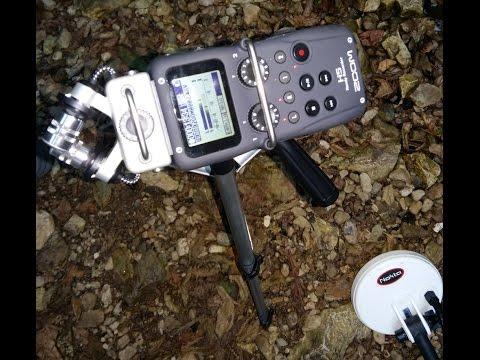 Treasure hunt with metal detectors at waterfall in CROATIA