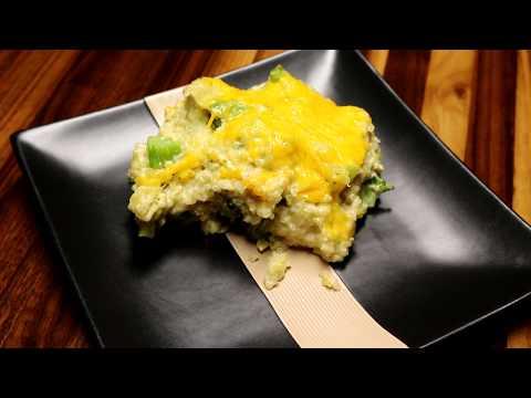 Healthy Cheesy Chicken Broccoli Quinoa