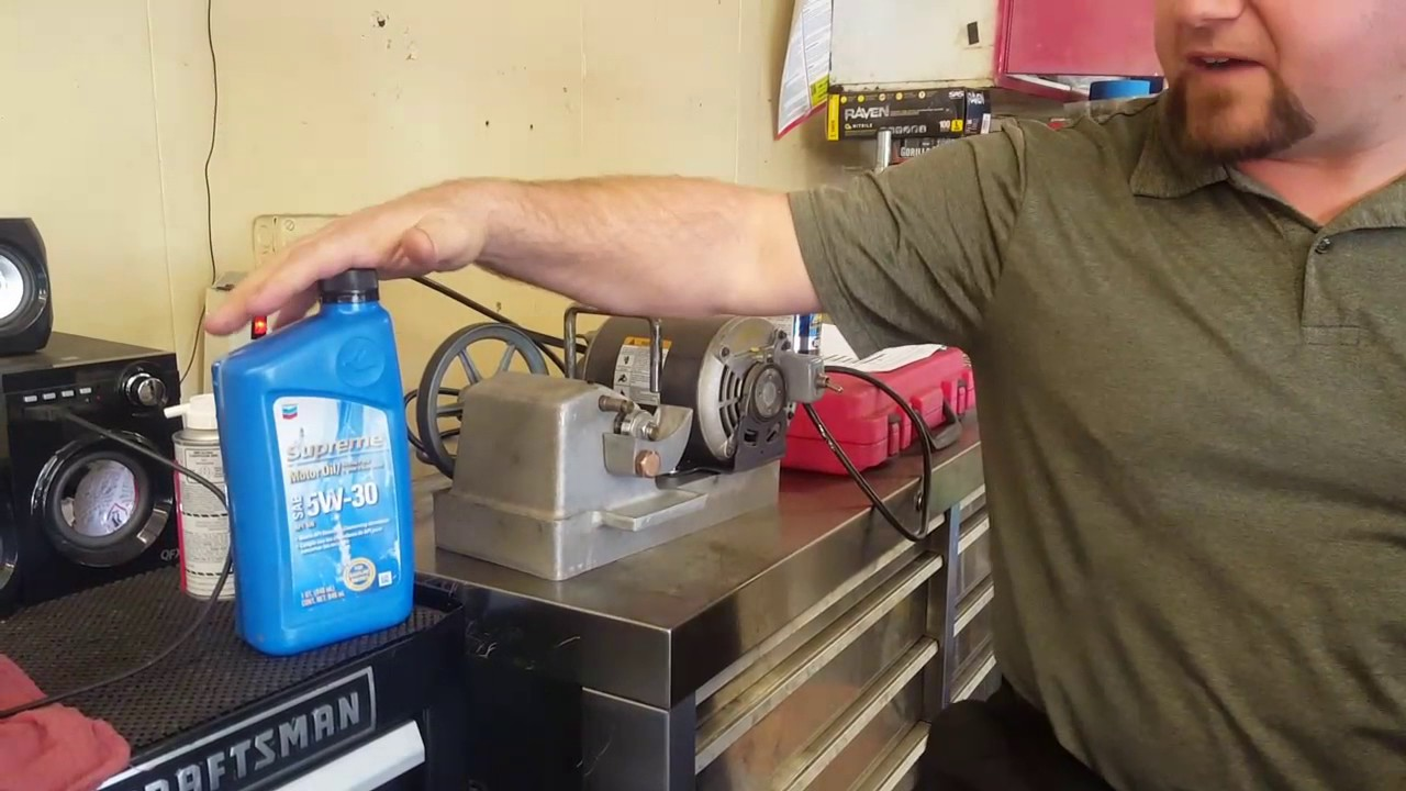 BG products Motor Oil Additive demo