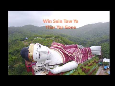 World's largest reclining Buddha,Win Sein Taw Ya,Mudon,Mon state,Myanmar