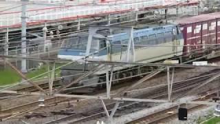 JR貨物・EF66形山崎跨線橋他(Japan Freight Railway)