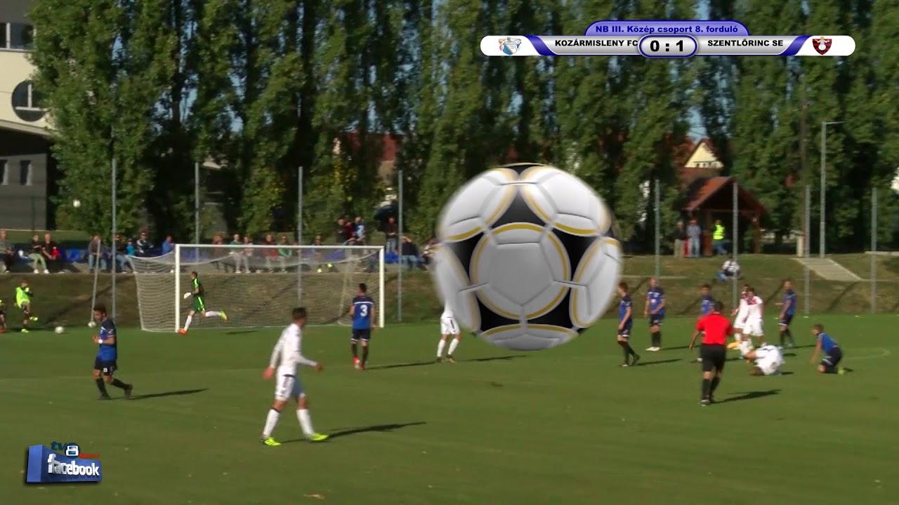 KOZÁRMISLENY FC - SZENTLŐRINC SE   0 - 1 (0 - 1)