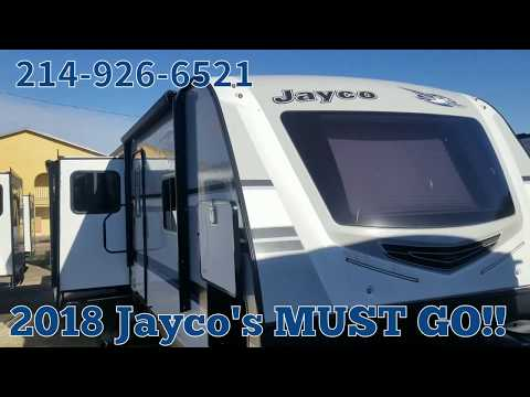 Must See!! 2018 Jayco White Hawk 31RL Rear Living Camper Clearance $ #Jayco