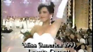 Miss America 1993- Crowning: Leanza Cornett, Miss Florida