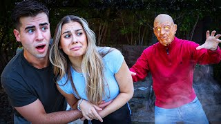 OLD MAN SCARED MY GIRLFRIEND!!
