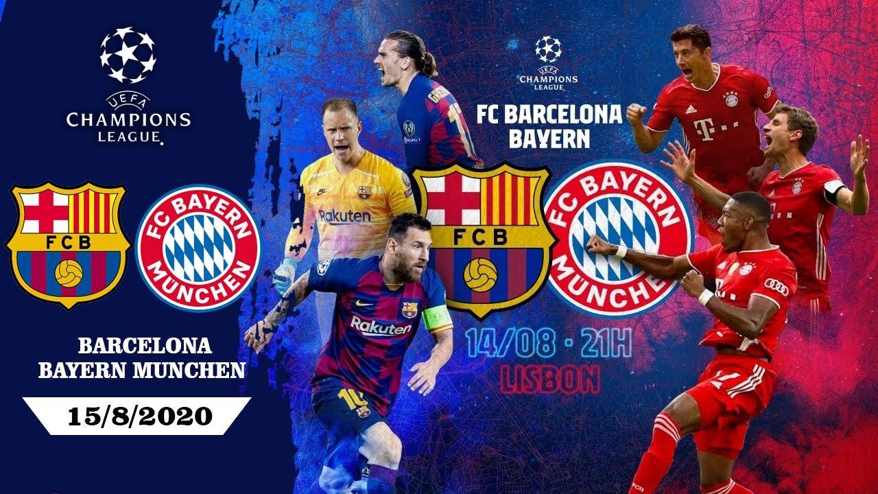 Download BARCELONA vs BAYERN MUNCHEN   EUFA Champions League 2020 Quarter Finals