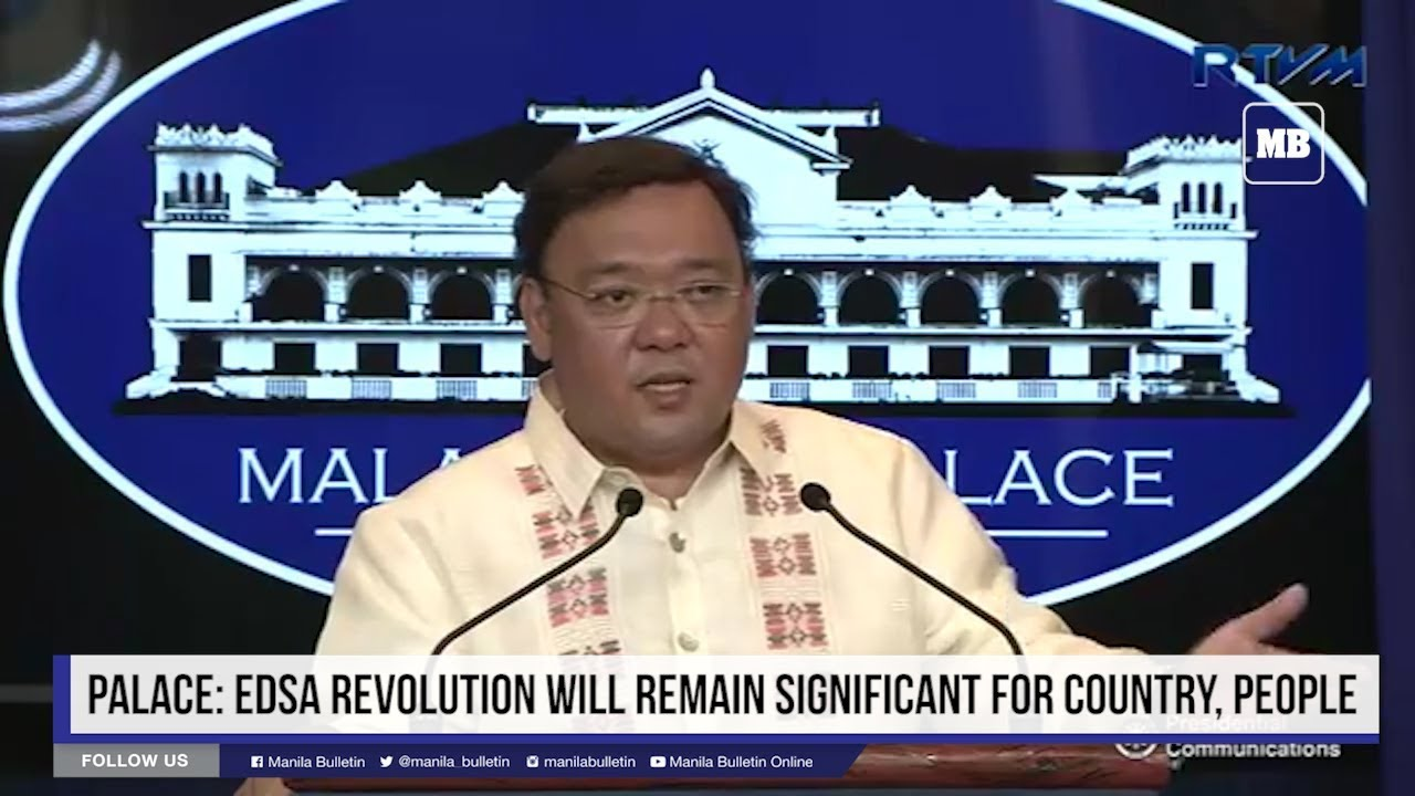 Palace: EDSA Revolution will remain significant for country, people