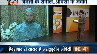 Public Meeting: Asaduddin Owaisi Faces Public on Completion of 1-year of Modi Govt - India TV