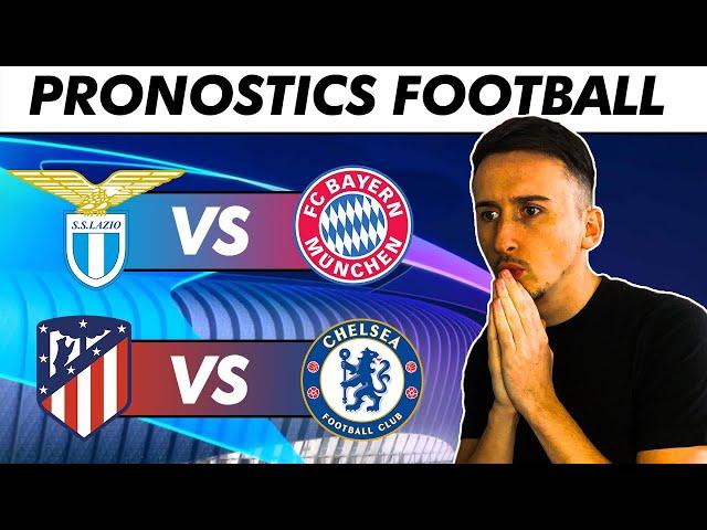 PRONOSTICS FOOTBALL (Champions League) Le Bayern perd à Rome ? L'Atletico trop fort ?