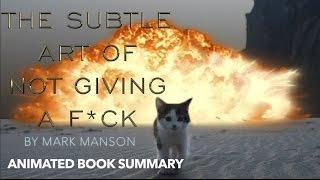 DIE SUBTILE KUNST, NICHT GEBEN EIN F*CK von MARK MANSON | Rezension von Wolfsuka