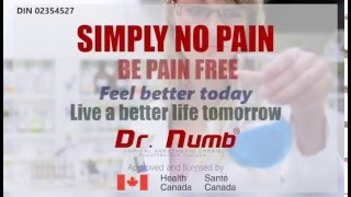Dr. Numb Anesthetic Infomercial (Numbing Cream)