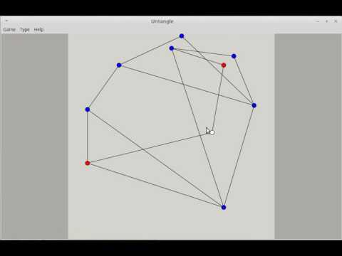 How to play Untangle (puzzle game, aka Planarity)