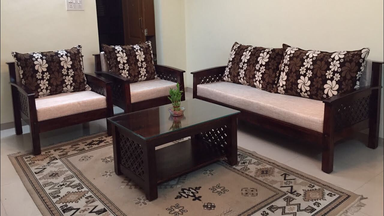 Lotus Wooden Sofa Set   New Design By Rightwood