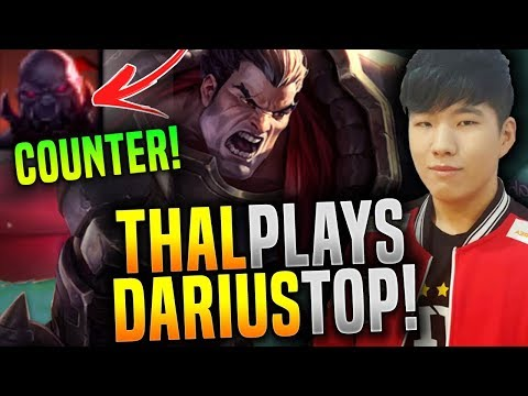 Thal Plays Darius To Counterpick Sion! - SKT T1 Thal Plays Darius Top! | SKT T1 Replays