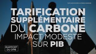 Le rapport du directeur parlementaire du budget sur la taxe carbone