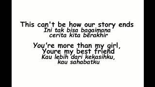 Video Bruno Mars - To Good To Say Goodbye (Lirik Indonesia) download MP3, 3GP, MP4, WEBM, AVI, FLV Juli 2018