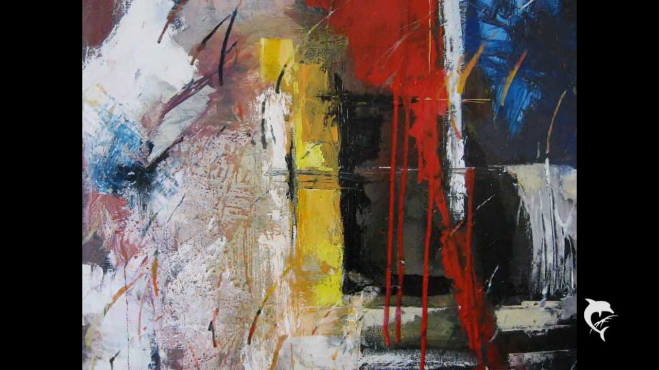 ARTE GUION Nr.4- Pittura astratta/Anno 2011-12 - YouTube