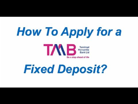 How to Apply for a TMB Fixed Deposit