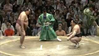 稀勢の里vs日馬富士 5月場所の優勝争いを大きく左右する一番 sumo kisen...