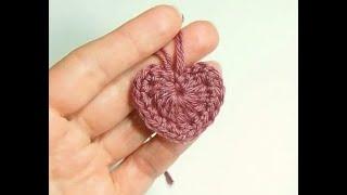 ❤ Как связать сердечко крючком видео How to knit heart crochet