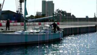 Najad 440AC Betelgeuse sailing Barcelona Split AAB YACHTING March 2010.mov